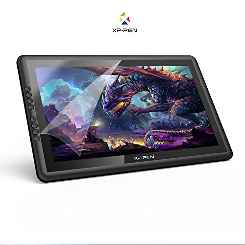 XP-PEN Tableta de Dibujo Monitor IPS 15.6 Pulgadas con Teclas Express