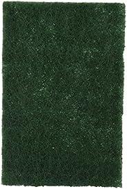 Brite Guard Heavy Duty Nylon Scrub Pad 6x4 inches (Green, 10-Piece)