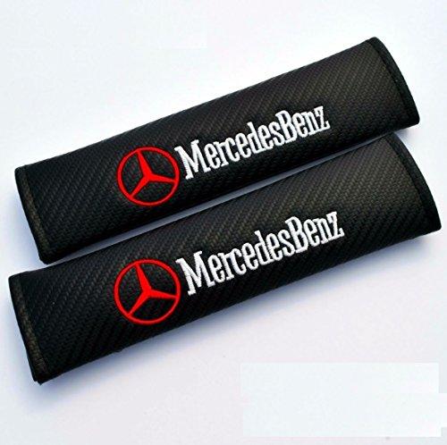 2-x-cinturon-acolchado-mercedes-benz-protege-de-carbono-look-cinturon