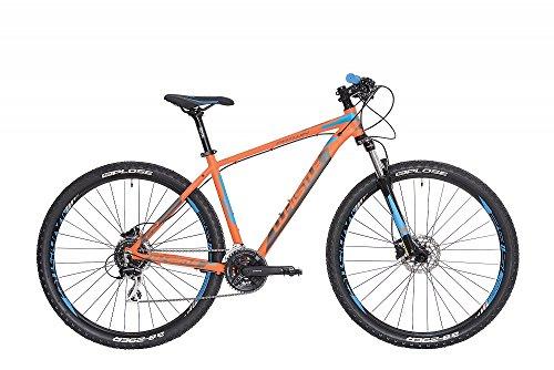 """Mountain Bike 29\"""" Whistle Patwin 1723 arancione - blu 24V misura S 17\"""" (160-170cm)"""