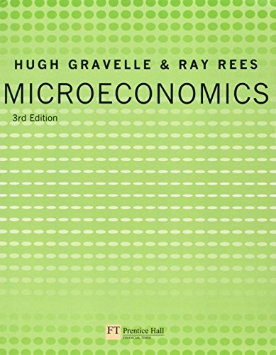 Microeconomics (3rd Edition) 3rd edition by Gravelle, Hugh, Rees, Ray (2004) Paperback