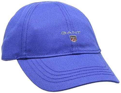 GANT Jungen Kappe Twill Cap, Blue (Nautical Blue), Large