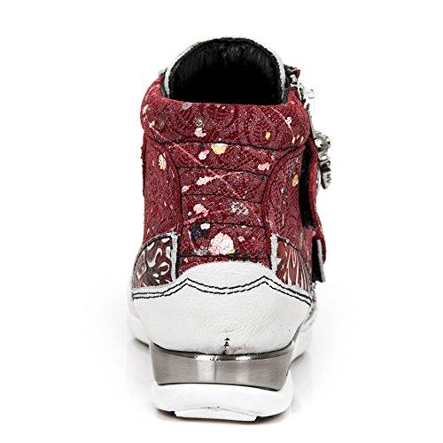 New Rock Hybrid Weiß Schuhe M.HY032-S19 White-Red