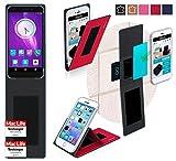 reboon Hülle für Elephone S1 Tasche Cover Case Bumper | Rot | Testsieger