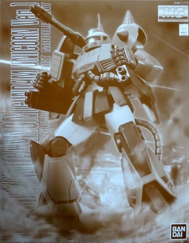 BANDAI MG 1/100 MS-06K ZAKU CANNON UNICORN COLOR VER  ONLINE SHOP LIMITED MODEL BY BANDAI