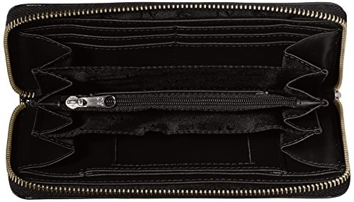 Armani Jeans 05v32rj, Portefeuille Noir - Schwarz (NERO - BLACK 12)