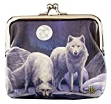 MONEDERO CON LOBOS Warriors Of Winter von LISA PARKER mujer Monedero Monedero Regalo