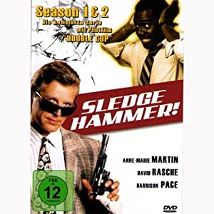 Sledge Hammer Box - Season 1+2 (uncut / 4 DVDs Edition) english audio