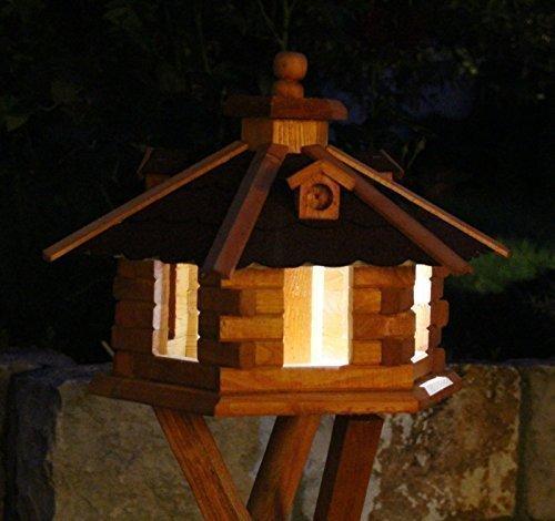 Casa Per Uccelli Illuminazione Solare Tipo 4-5