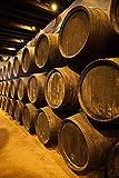 Walter Bibikow / DanitaDelimont – Spain Bodegas Gonzalez Byass Winery Casks Photo Print (63,40 x 95,10 cm)