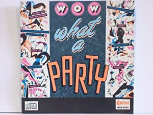 Wow What A Party Rare 1987 K Tel 20 Track Cd Album Ncd