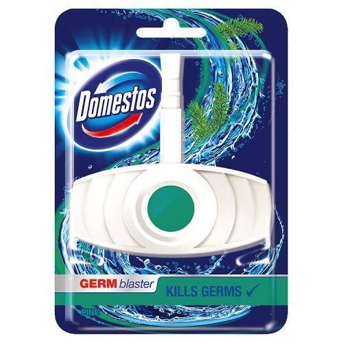 Pine Block (Domestos Toilet Block Germ Blaster Pine Fresh 40Gm - 40G)