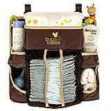 Buzzy Babee Windel wechseln Organizer, braun/kaffee perfekt Windel Caddy & Spielbett für Babys Organizer