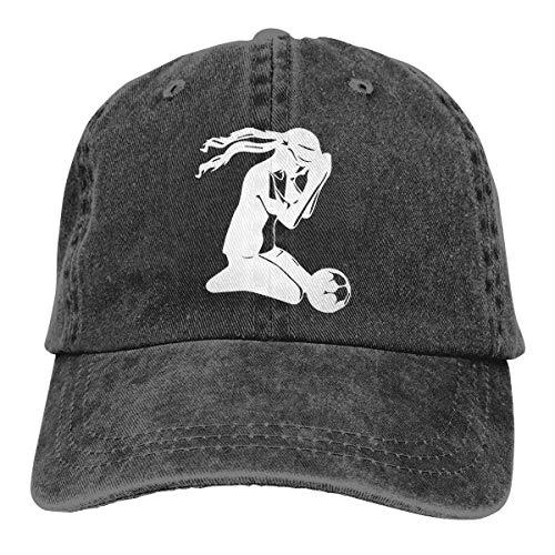 cvbnch Cowboy-Hut Sonnenkappen Sport Hut Soccer Girl Praying Men's Women's Adjustable Baseball Hat Denim Jeanet Hip-hop Cap Sports Cool Youth Golf Ball Unisex Hiking Cowboy hat hip hop