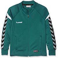 Hummel AUTH Charge Zip Jacket Chaqueta Niños, Infantil, Color Evergreen, tamaño 152