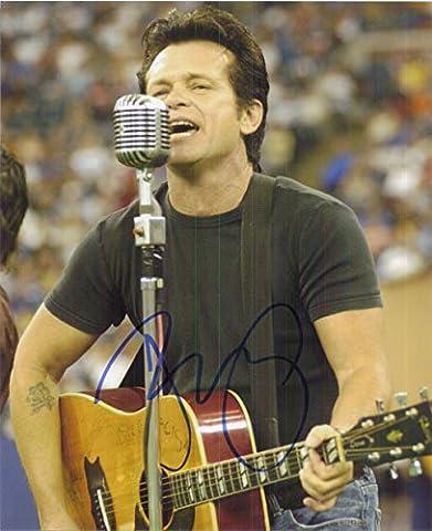 Signed Mellencamp, John Cougar 8x10 Photo autographed
