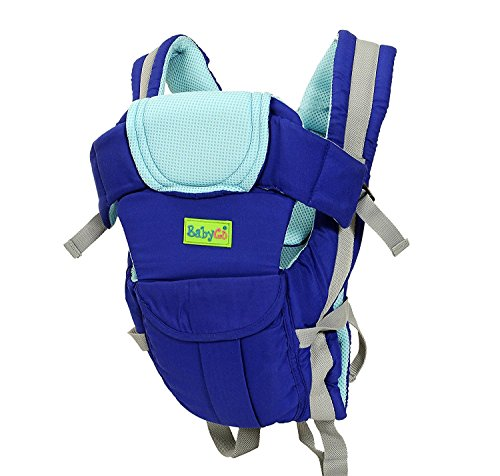 BabyGo Soft 4-in-1 Baby Carrier with C...