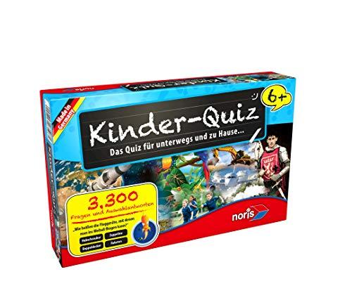 Noris 606013596 - Kinderquiz ab 6 Jahren Kinderspiel (Hat Spielen Karten)