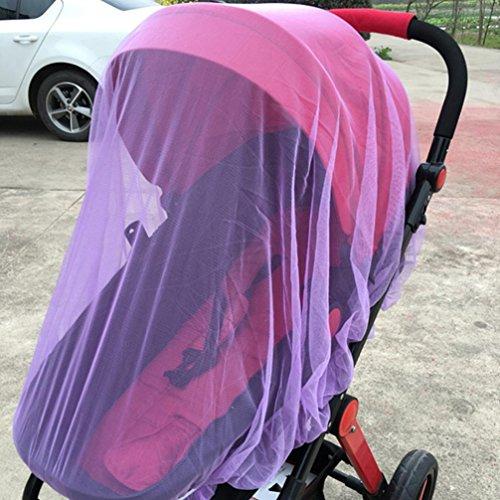 Mückennetz für Kinderwagen, Zarupeng Kinder Moskitonetz Sonnensegel Faltbare Netze,Voller...