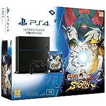 Console Playstation 4 1 To Jet Black + Naruto Shippuden: Ultimate Ninja Storm 4 [Importación Francesa]