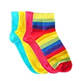Footsy Colourful Combo Pack of 4