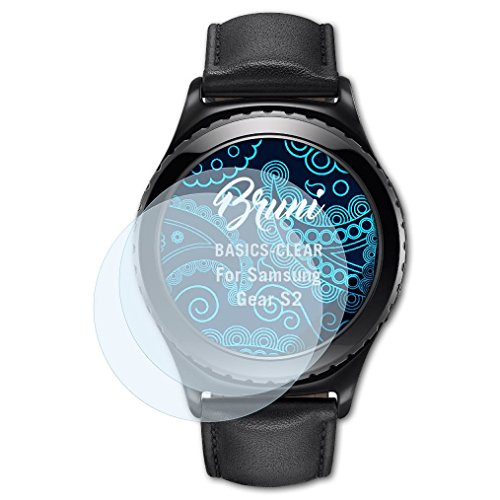 Bruni Screen Protector for Samsung Gear S2 Protector Film - 2 x...