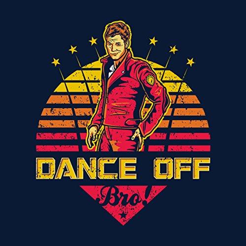 Dance Off Bro Peter Quill Guardians Of The Galaxy Men's Vest Navy Blue