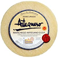 Queso Oveja Semicurado 'DO Manchego' (1 kg) - Artequeso