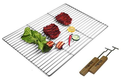 grille-de-barbecue-carr-en-acier-inoxydable-60cm-x-40cm