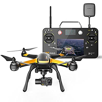JYZ drone Hubsan H109S X4 PRO Quadcopter FPV 3 Axis Gimbal 1080p FHD Camera GPS Altitude Hold Drone from Hubsan