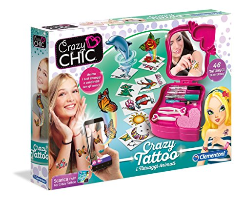 Clementoni 15147 - Crazy Chic - Magic Tattoo