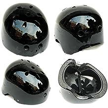 Bicicleta BMX bicicleta Ciclismo protectora patinete para patines casco Kid Adult negro L