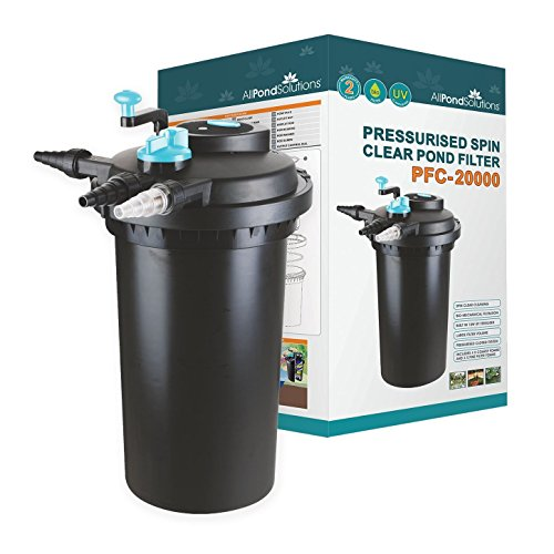 All Pond Solutions EURO-PFC-20000 Druckfester Koiteich-Filter/UV-Sterilisator für PFC.