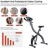 Ozoy Fitness Cycle - Foot Pedal Exerciser - Foldable Portable Foot, Leg Exercise Pedaling Machine - Stationary Bike Pedaler, Fitness Rehab Gym Equipment for Seniors, Digital Monitor