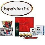 Premier Life Store Pères Marvel Comics Boîte Cadeau avec Bol de Spiderman, Daddy Mug, Ferrero Rocher et la Menthe