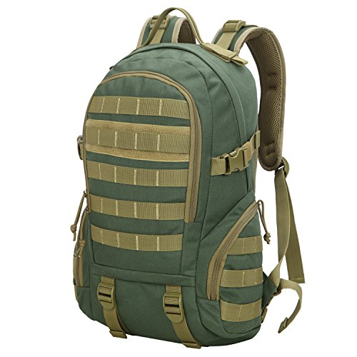 Fafada us assault 26l 40l zaino militare patrol tattico da escursionismo montagna impermeabile zaini trekking campeggio (26l verde)
