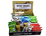 SnackBaron gesunde Snacks für Büro, Office und Meetings - 35 Plus Snacks mit veganer, glutenfreies und laktosefreies Superfood - Healthy Snacks Box inklusive Display