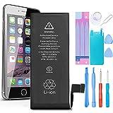Ibaye Batteria per iPhone 5S/5C 1560mAh Alta Capacità, batteria interna Ricambio ricaricabile Sostituzione in Li-ion con kit Smontaggio Cacciavite Strumenti di Riparazione