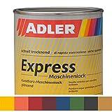 ADLER Express-Maschinenlack Y30 53 Orange 750ml Kunstharzlack Spritzlack Lack