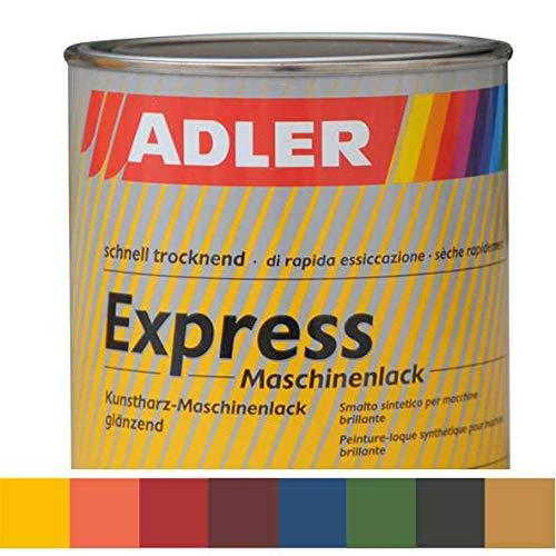ADLER Express-Maschinenlack G40 66 Grün 750ml Kunstharzlack Spritzlack Lack