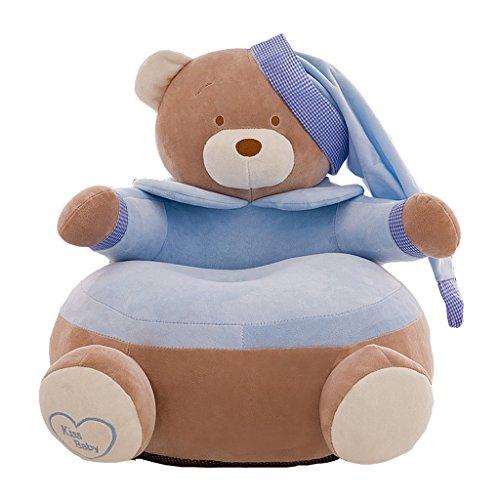 Homyl Süße Sitzsackhülle ohne Füllung, Riesensitzsack Sitzsack Bezug Hülle aus Plüsch - Bär...