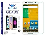 TechArt Brand Premium Tempered Glass Designed For Moto X (2nd Gen). Anti-burst tempered glass curve edge screen protector, brand new and good quality. Excellent defensive performance and super high transparency. Special tempered glass, up to [9H] har...