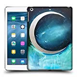 Head Case Designs Offizielle Mai Autumn Silber Mond Garten Weltraum Und Himmel Ruckseite Hülle für iPad Air (2013)