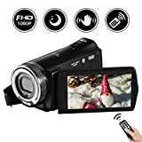 Videokamera Camcorder Full HD 24.0 MP Digitalkamera 1080 P 3.0  INCH LCD Nachtsicht Vlogs Kamera-Pause-Funktion incl fernbedienung unterst�tzung tripod medium image