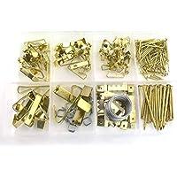 Stahln/ägel Stahlstifte Bilder N/ägel 25 x 1,5 mm 100 Stk Abpackung von livindo