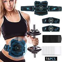 NIULLA EMS Estimulador Muscular Abdominal Abs Fitness Adelgazamiento Entrenamiento Músculos Electroestimulador Toner Cinturón De Masaje
