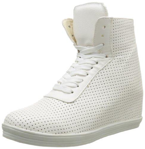 Friis & Company  Nini Wedge Sneaker,  Sneaker donna Bianco Blanc (White) 41