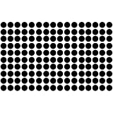 Polka Dot Wall Decal Nursery Kids Room Peel And Stick Removable Sticker Circle Pattern Decor #1326