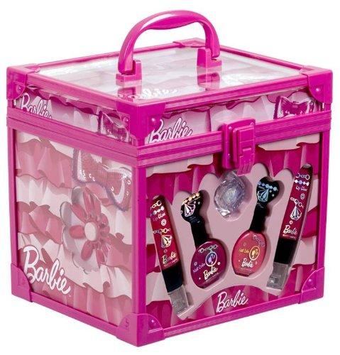 Preisvergleich Produktbild Barbie Kinderschmink-Koffer - Beauty Train Case