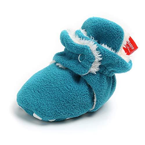 Sabe Baby Schuhe Jungen Mädchen Stiefel Weicher Sohle Rutschfeste Lauflernschuhe Fleeceschuhe 0-18 Monate